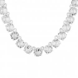 Colliers Ras De Cou Collier Ras De Cou Pierres Rondes La Diamantine Silver Cristal300,00€ AILD332/3Les Néréides