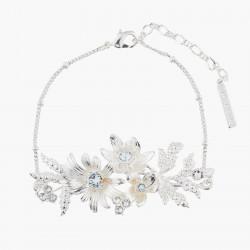 Bracelets Fins Bracelet Fin Mariage Bouquet Étincelant Et Cristaux Transparent140,00€ AKJV204/2Les Néréides