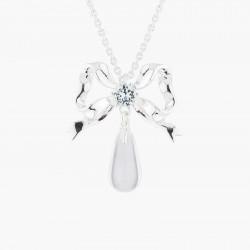 Colliers Pendentifs Collier Pendentif Mariage Ruban Et Cristal Transparent120,00€ AKJV303/2Les Néréides