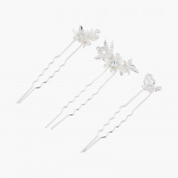 Set Of 3 Hair Pins With...