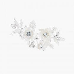 Broches Broche Mariage Bouquet Étincelant Et Cristaux Bleutés120,00€ AKJV502/2Les Néréides