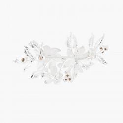 Broches Broche Mariage Bouquet Étincelant Et Cristaux Bleutés