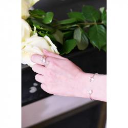 Bagues Ajustables Bague Ajustable Mariage Fleurs Et Pierre Transparente90,00€ AKJV603/2Les Néréides