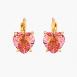 Boucles D'oreilles Dormeuses Boucles D'oreilles Dormeuses Pierre Cœur Rose Pêche La Diamantine Multicolore50,00€ AKLD145D/1L...