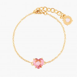 Bracelets Fins Bracelet Fin Une Pierre Cœur La Diamantine Multicolore