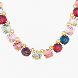 Colliers Ras De Cou Collier Ras De Cou Luxe Pierres Rondes La Diamantine Multicolore