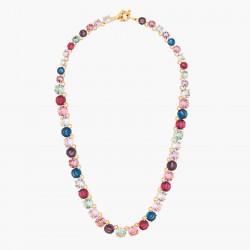 Colliers Ras De Cou Collier Ras De Cou Luxe Pierres Rondes La Diamantine Multicolore300,00€ AKLD332/1Les Néréides