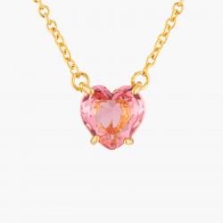 Colliers Pendentifs Collier Pendentif Pierre Cœur Rose Pêche La Diamantine Multicolore50,00€ AKLD353/1Les Néréides