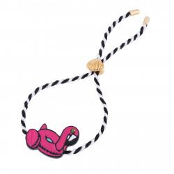 Bracelets Bracelet Cordon Bouée Flamant Rose30,00€ AHAM201/1N2 by Les Néréides