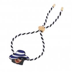 Bracelets Bracelet Cordon À L'ombre Sous Mon Chapeau30,00€ AHAM202/1N2 by Les Néréides