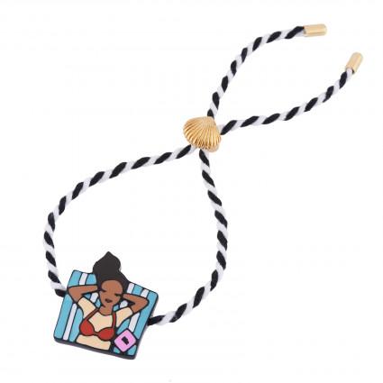 Bracelets Bracelet Cordon Bronzette Sur Ma Serviette