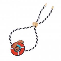 Bracelets Bracelet Cordon Bouée Et Biscoto