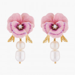 Pink Pansy And Baroque...