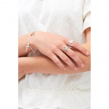Engraved lock bracelet