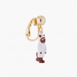 Boucles D'oreilles Originales Boucle D'oreille Clip Loup29,00€ AKCH102C/1N2 by Les Néréides