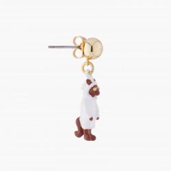 Boucles D'oreilles Boucle D'oreille Tige Loup29,00€ AKCH102T/1N2 by Les Néréides
