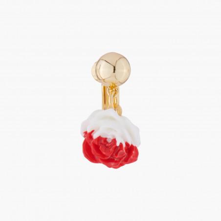 Lobster roll earrings