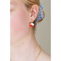 Boucles D'oreilles Originales Boucle D'oreille Clip Fleur Bicolore29,00€ AKCH109C/1N2 by Les Néréides