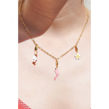 Lobster roll necklace