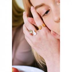 Bracelet Vampirella et perles rouges