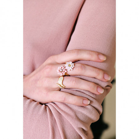 Bracelet Vampirella et perles bleues