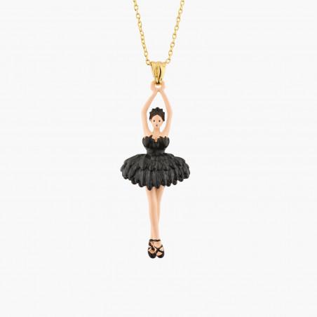 White Vampirella cord necklace