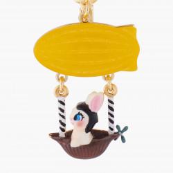 Boucles D'oreilles Originales Boucles D'oreilles Clips Asymétriques Lapin Tête En L'air80,00€ AKTE101C/1N2 by Les Néréides
