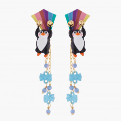 Penguin And Kite Stud Earrings