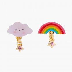 Boucles D'oreilles Originales Boucles D'oreilles Clips Asymétriques Nuage Et Arc-en-ciel50,00€ AKTE110C/1N2 by Les Néréides