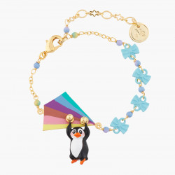 Flying Penguin Chain Bracelet