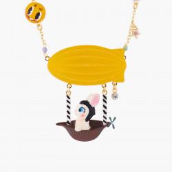 Colliers Collier Plastron Lapin Et Ballon Dirigeable