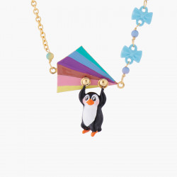 Flying Penguin Fine Necklace
