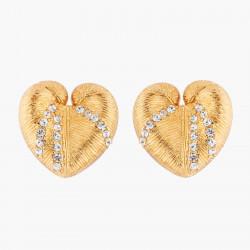 Boucles D'oreilles Clip Boucles D'oreilles Clip Coquillage Et Cristaux80,00€ AKTT101C/1Les Néréides