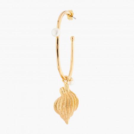 La Diamantine earrings little round cut faceted glass