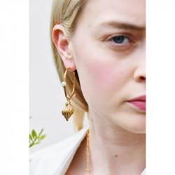 Boucles d'oreilles La Diamantine 2 pierres