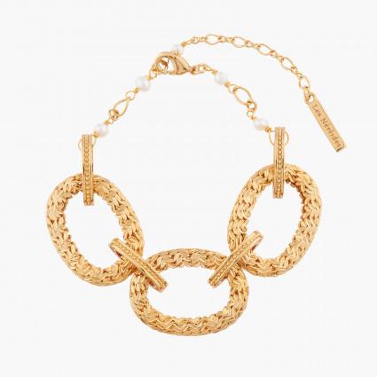 La Diamantine bracelet 5 faceted glass