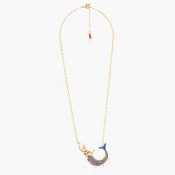 Collier chaîne et pierre unique La Diamantine