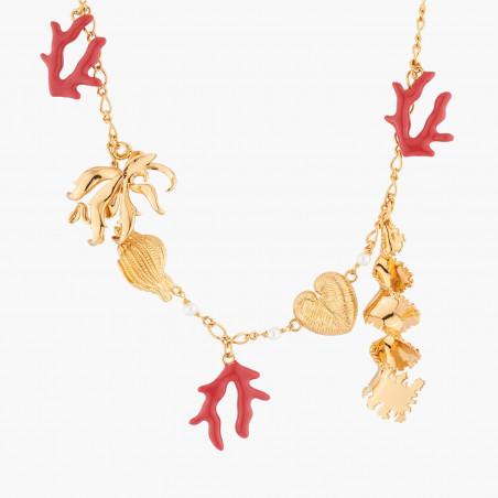 Necklace Alphabet Fleuri letter C