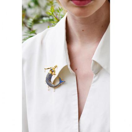 Bracelet rigide petit modéle Champêtre: Fleurs, Papillon, Coccinelle et Strass
