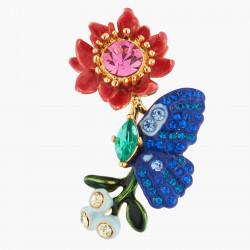 Boucles D'oreilles Tiges Boucles D'oreilles Tiges Papillon Ulysses Et Fleur De Waratah140,00€ AKEP101T/1Les Néréides