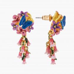Boucles D'oreilles Pendantes Boucles D'oreilles Tiges Royal Blue Bell Et Common Heath120,00€ AKEP104T/1Les Néréides