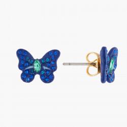 Boucles D'oreilles Tiges Boucles D'oreilles Tiges Papillon Ulysses Et Cristaux60,00€ AKEP105T/1Les Néréides