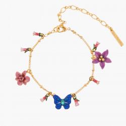 Bracelets Fins Bracelet Chaîne Papillon Ulysse Et Fleurs D'australie130,00€ AKEP205/1Les Néréides