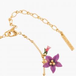 Bracelets Fins Bracelet Chaîne Papillon Ulysse Et Fleurs D'australie