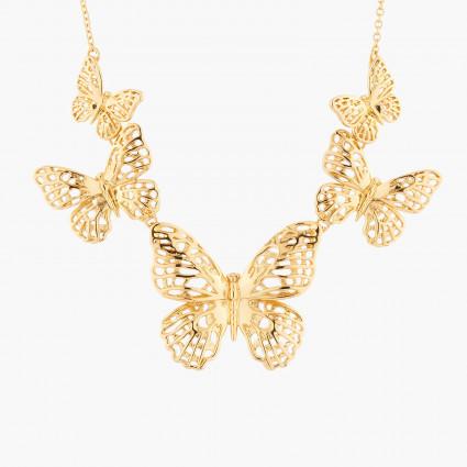 Colliers Plastrons Collier Plastron Envol De Papillons150,00€ AKEP303/1Les Néréides