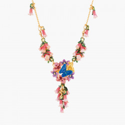 Colliers Fins Collier Pendentif Royal Blue Bell Et Common Heath140,00 € AKEP304/1Les Néréides