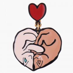 Boucles D'oreilles Boucles D'oreilles Clip Un Amour De Chats65,00€ AKNA101C/1N2 by Les Néréides