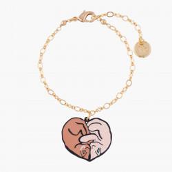 Cat Love Thin Chain Bracelet