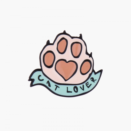 Colliers Pendentif Cat Lover