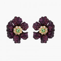 Clip On Earrings Rose...